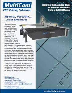 1000 Series Plasma Bridge and Rail Brochure Cover