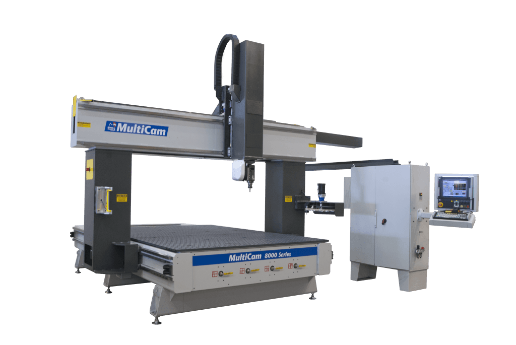 MultiCam 8000 Series 5-Axis CNC router