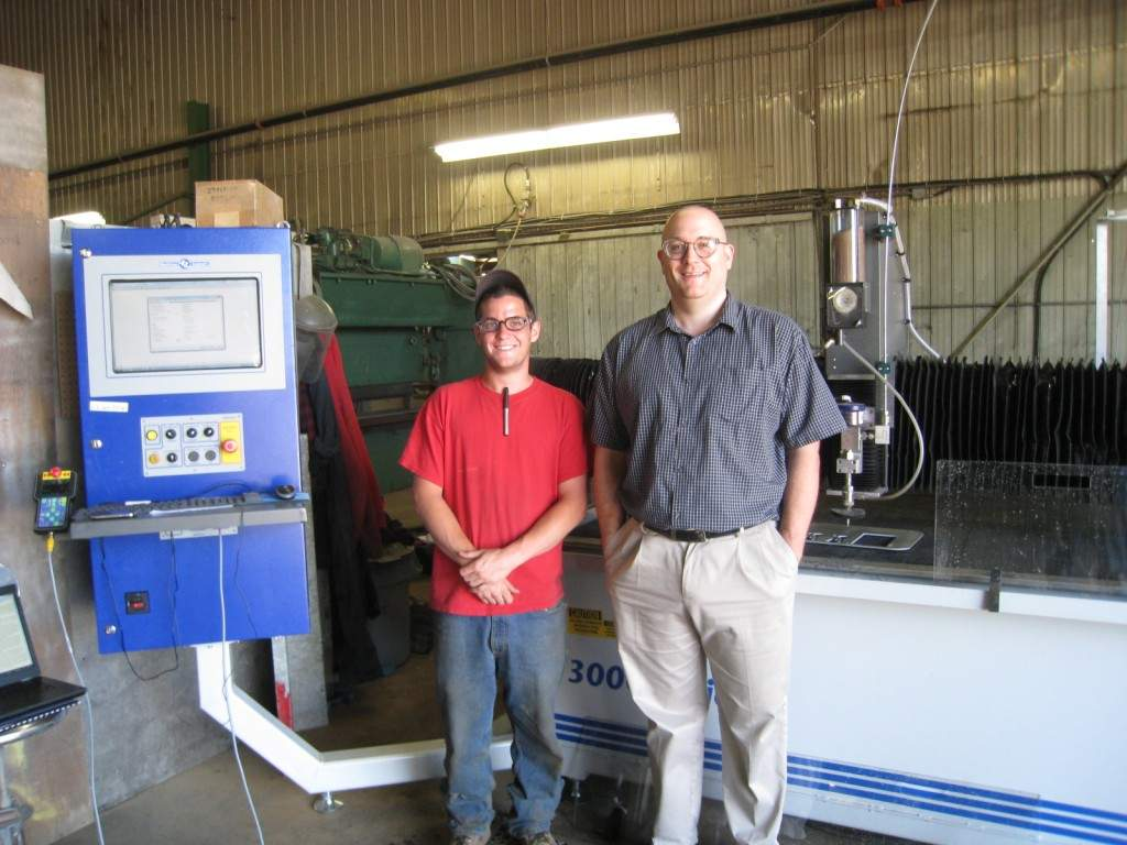 ABCO Industries installs a MultiCam 3000 Series WaterJet