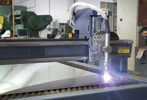 Open-air CNC plasma cutting