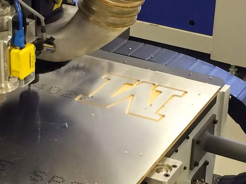 how to use a router to cut aluminum for sign letter With cutting letters with router