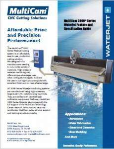3000 Series Waterjet Brochure Cover