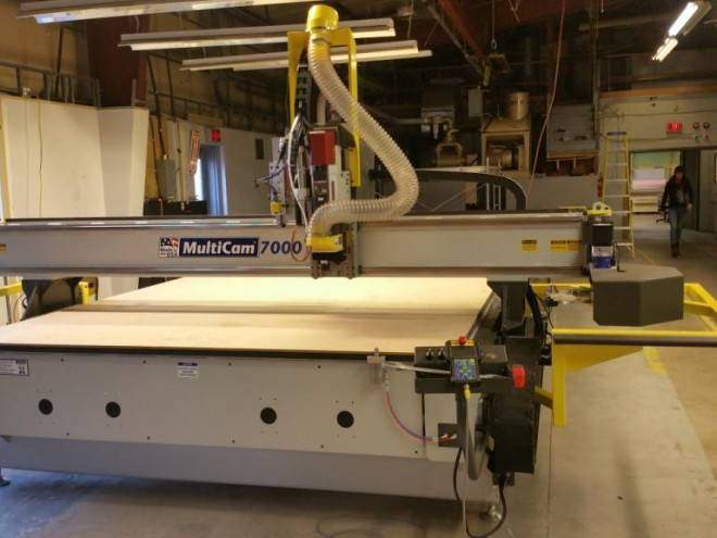 Installation of a 7000 Series CNC Router