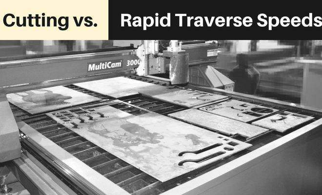 Cutting Vs. Rapid Traverse Speed