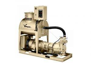 Dekker Vmax oil sealed liquid ring vacuum pump system option