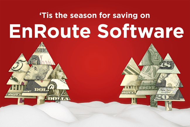 EnRoute Software End of Year Promotion