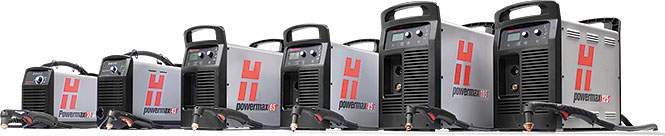 Hypertherm Powermax Lineup