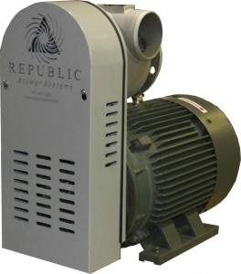 Republic RB2000 Centrifugal Blower vacuum pump option