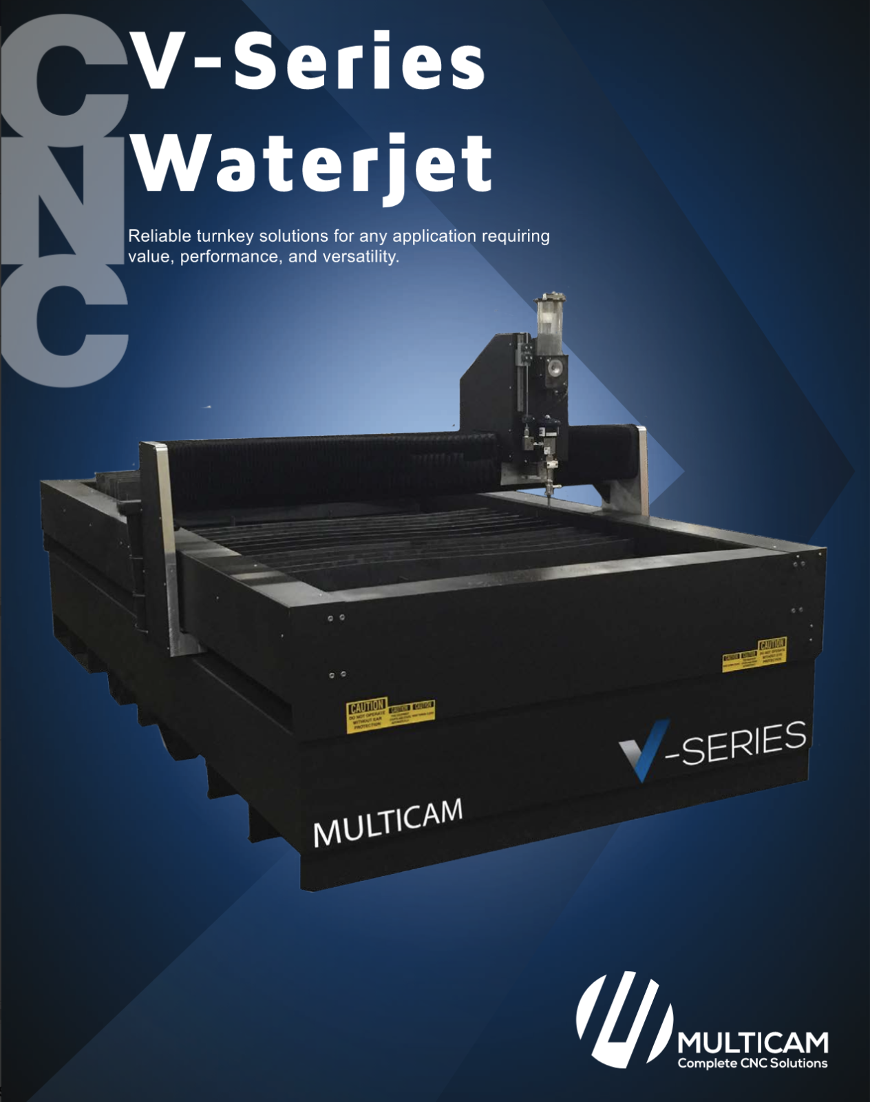 V-series CNC Waterjet