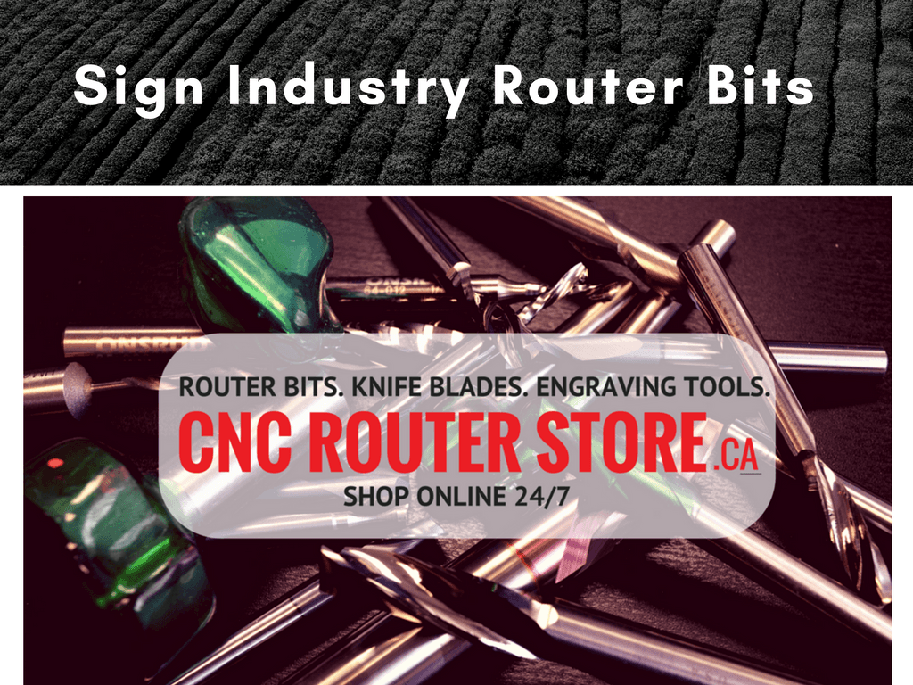 Sign Industry Router Bits