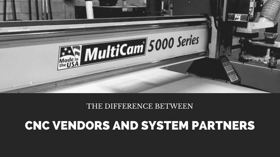 The Difference between CNC Vendors and System Partners
