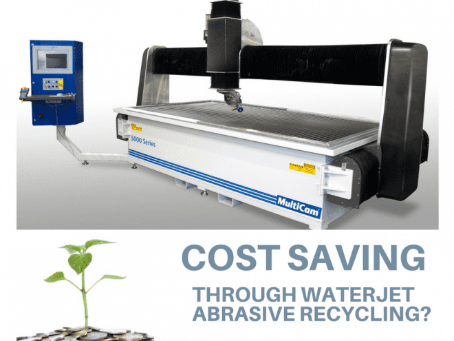 Potential Cost Savings Through Waterjet Abrasive Recycling